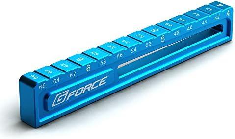 G-FORCE ジーフォース Droop Gauge 4.0to6.6mm Blue・G0116