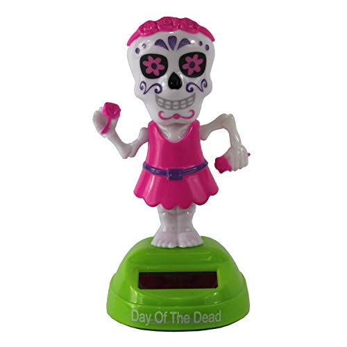 Halloween Day of The Dead Dancing Solar Character]()