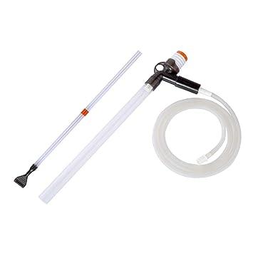 POPETPOP Aspirador de Acuario Limpiador de Grava Limpiador de Peces Sifón Lavadora de Arena: Amazon.es: Productos para mascotas