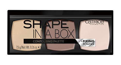 Catrice Shape in a Box Contouring Palette (020 Medium 020) - Blending and Contouring (Best Of Catrice Makeup)