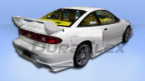 Duraflex Replacement for 2003-2005 Chevrolet Cavalier Bomber Rear Bumper Cover - 1 Piece