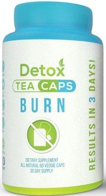 Detox Tea Caps Burn Dietary Supplement 60 Capsules