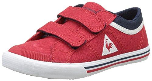 Le Coq Sportif Saint Gaetan Ps Cvs - Botas Unisex Niños Rojo (Vintage Red/Dress Bl)