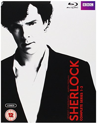 Sherlock (BBC) Complete Series 1-3 Blu-ray [UK Import] [1080i player required/Region Free]
