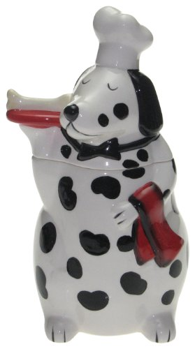 Snoozer Buon Appetito Dog Treat Jar by Tracy Flickinger