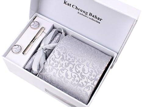 K sera sera 高級ネクタイ花柄 結婚式4点セット(ネクタイ・ネクタイ