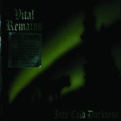 CD : Vital Remains - Into Cold Darkness (CD)