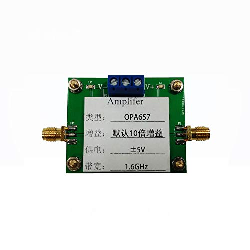 Taidacent OPA657 High Speed Low Noise Broadband Op Amp FET Non-inverting Amplifier High Speed Current Buffer