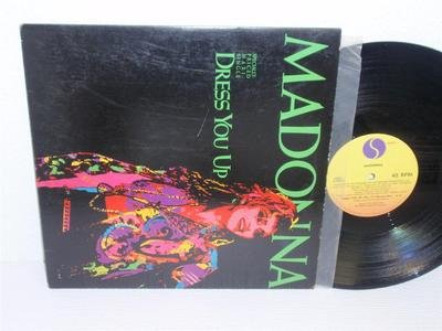 "Price comparison product image MADONNA Dress You Up 12"" 45 RPM maxi-single Sire Records 0-20369 (1984) VG"