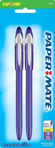 Get Quotations · 3 Pack Point Guard Flair Porous Point Stick Pen, Purple  Ink, Medium, Dozen