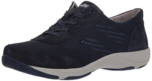 Dansko Women's Hayes Sneaker, Navy Suede, 39 M EU (8.5-9 US)