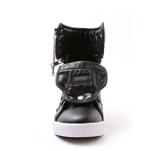 Chaussure De Course À Pied De Pâtisserie Et De Chaussures De Danse, Matériel Et Clous Noirs