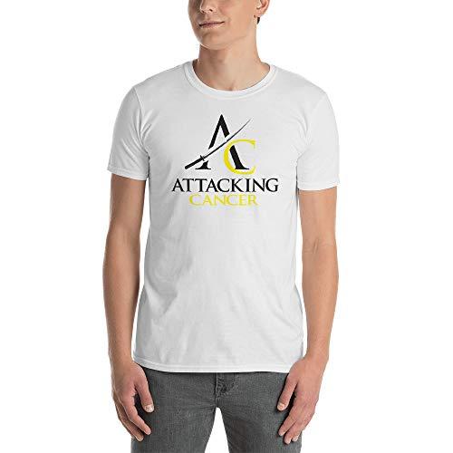 Short-Sleeve Men's T-Shirt (Bladder/Bone/Sarcoma Cancer) White