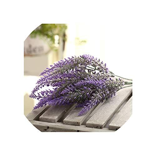 (Romantic Provence Decoration Lavender Flower Silk Artificial Flowers Grain Decorative Simulation of Aquatic)