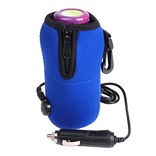 Cup Warmer - Portable Dc 12v In Car Baby Bottle Heater Food
