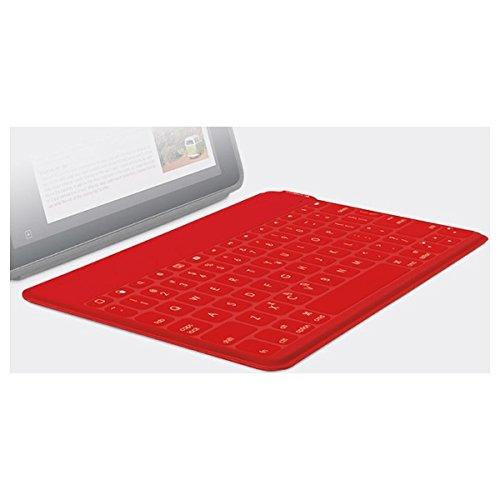ロジクール ロジクール ウルトラポータブル キーボード for iPad レッド iK1041RD