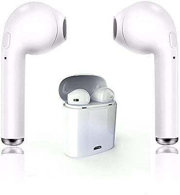 SAUCANBU Auriculares Bluetooth 4.2, Auriculares inalámbricos ...
