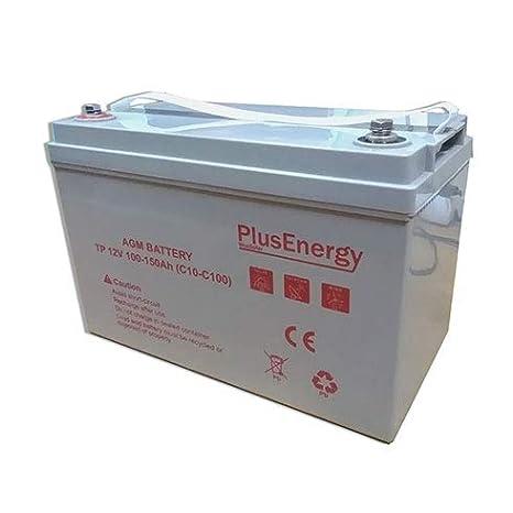 wccsolar.es Bateria AGM Y Gel 12V PlusEnergy 150AH 250AH (AGM ...