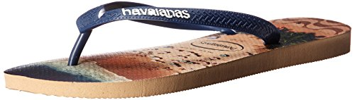 Havaianas Men's Flip-Flop Sandals, Hype,Rose Gold, 41/42 BR (9-10 M US)