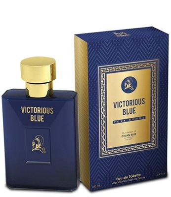 Victorious Blue by Mirage Brand Fragrance inspired by DYLAN BLUE BY VERSACE FOR MEN