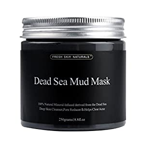 Jinjin 250g Pure Body Naturals Beauty Dead Sea Mud Mask For Facial Treatment