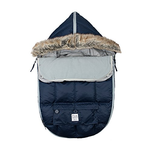7 A.M. ENFANT ''Le Sac Igloo'' Footmuff, Midnight, Large by 7A.M. Enfant