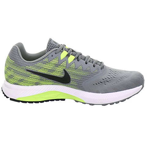 Pictures of NIKE Men's Air Zoom Span 2 908990 Grey/Black/Volt 3