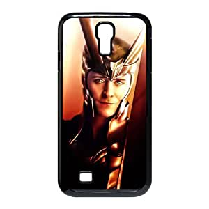 QSWHXN Customized Thor Loki Pattern Protective Case Cover Skin for Samsung Galaxy S4 I9500