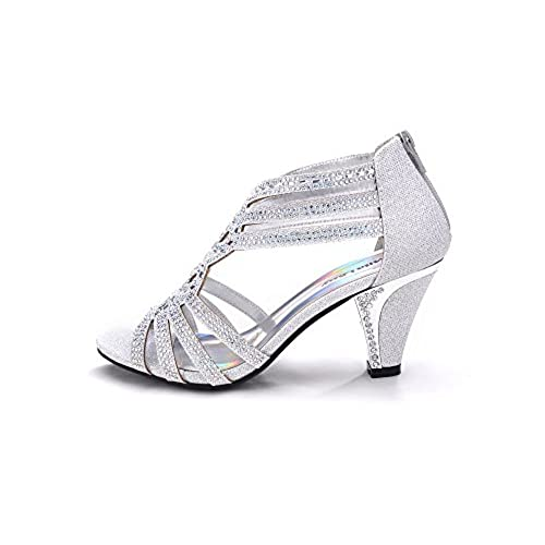 2abd70748 high-quality Mila Lady Women's LEXIE Crystal Dress Sandals (Kimi 25 ...
