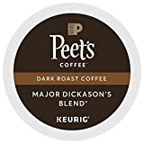 Peet's Coffee Major Dickason's Blend Dark Roast for Keurig K-Cup Brewers (88 Count)