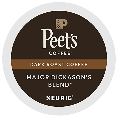 Peet's Coffee Prime Dickason Blend Single Cup Coffee for Keurig K-Cup Brewers 40 count