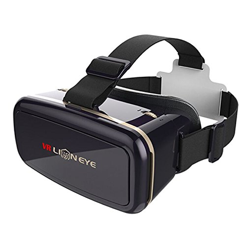 ELOKI VR Glasses, 3D Goggles Virtual Reality Headset for VR Games & 3D Movies-VR Headgear with HD Technology for Apple iPhone, Samsung Sony HTC More Smartphones