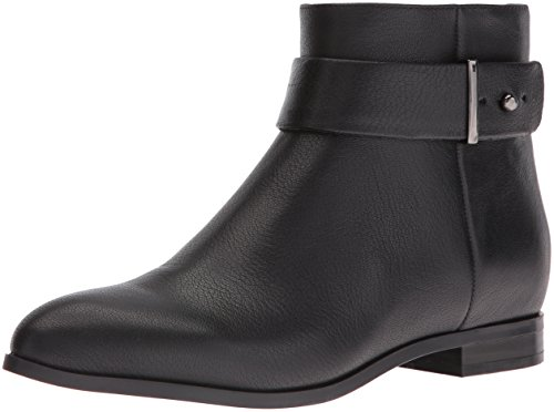 Nine West Women's Objective Leather Boot, Black, 7.5 M US by Nine West
