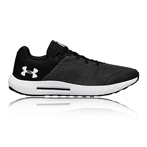 Under Armour mens Micro G Pursuit Running Shoe, Anthracite (102)/Black, 9.5