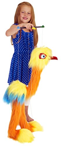The Puppet Company Marionette Giant Birds Tropical Bird (Yellow/Orange/Blue)