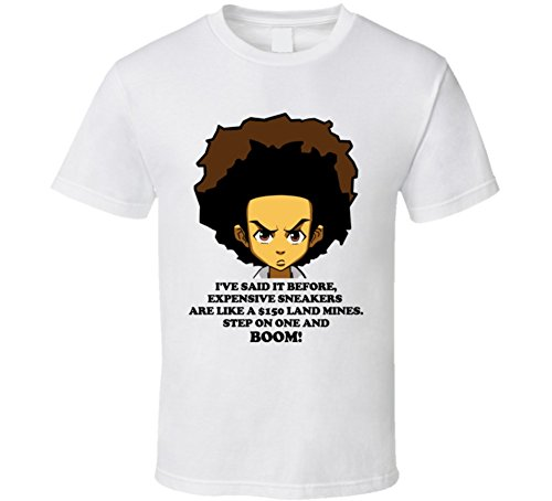 - Perfect Fit T Shirts The Boondocks T Shirt 6XL White