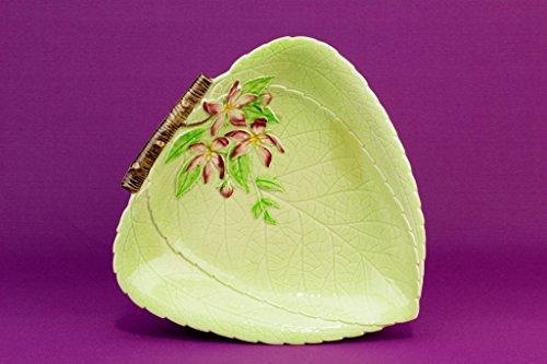 Carlton Ware Yellow Leaf Shaped Serving Dish Bowl Plate Vintage English 1950s