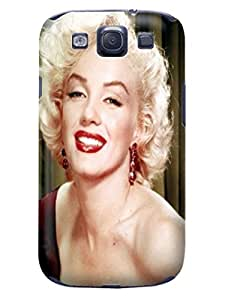 Samsung Galaxy Protective fashionable Popular Marilyn Monroe TPU Cover/Case/Shell for Samsung Galaxy s3
