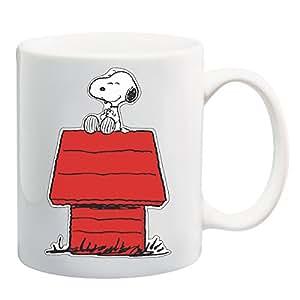 Snoopy Doghouse camiseta taza