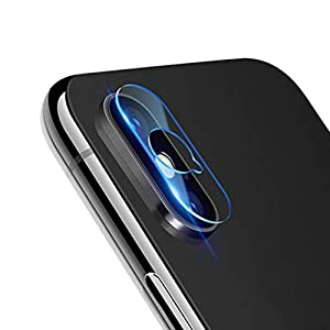 Christmas Hot Sale!!!Kacowpper 5PC Q Shape Hole Tempered Glass Protector Camera Film Compatible iPhone XS 5.8 inch/XS MAX 6.5 inch