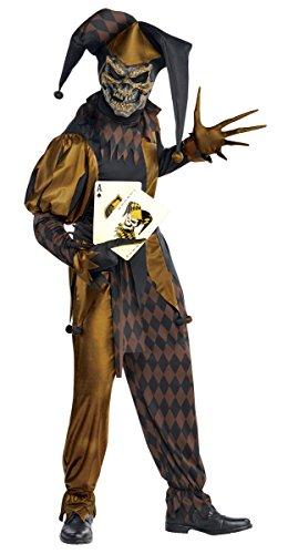 Jokers Wild Costume (Jokers Wild Costume - Standard - Chest Size 42)