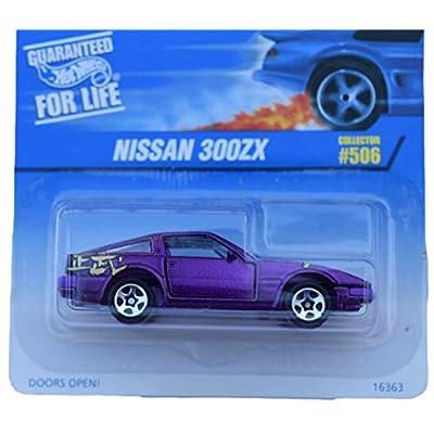 Hot Wheels Nissan 300ZX #506 5spoke Wheels, Purple: Toys & Games