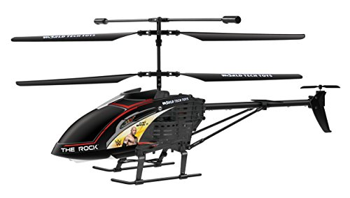 WWE Licensed The Rock Hercules 3.5CH RC Helicopter by World Tech Toys