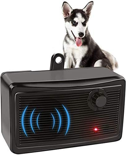GOTSEVEN Bark Control Device, Upgraded Mini Bark Control Device Outdoor Anti Barking Ultrasonic Dog Bark Control Sonic…
