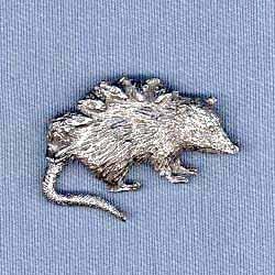 Opossum Pin - Harris Pewter Pin