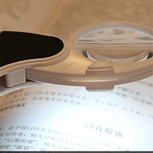 ZXY-NAN Glass Glass 10 Times Magnifier Magnifier for Reading ...