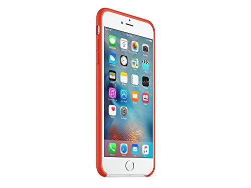 Apple MKXQ2ZM/A iPhone 6 Plus/6S Plus Silikon Hülle orange