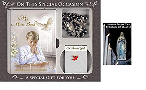 Image Unavailable. Image not available for. Color: Boys Confirmation Gift ...