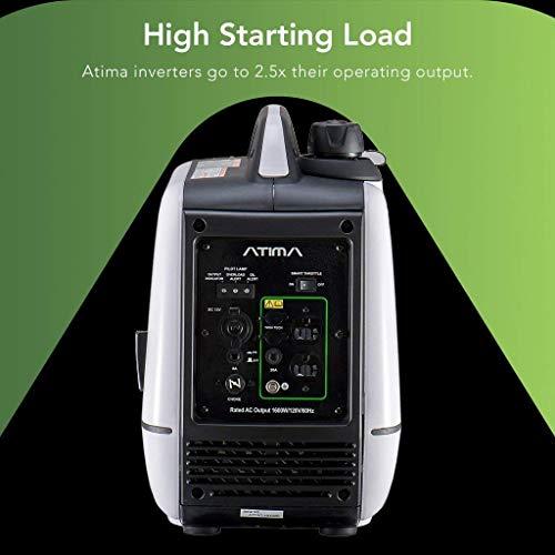 Atima Ay2000i Portable Inverter Generator 2000 Watt