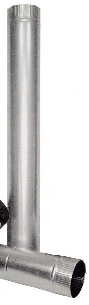 Talleres Hermanos Catalina -Theca- 7500003 - Tubo estufa 100mm liso ac galv theca: Amazon.es: Bricolaje y herramientas